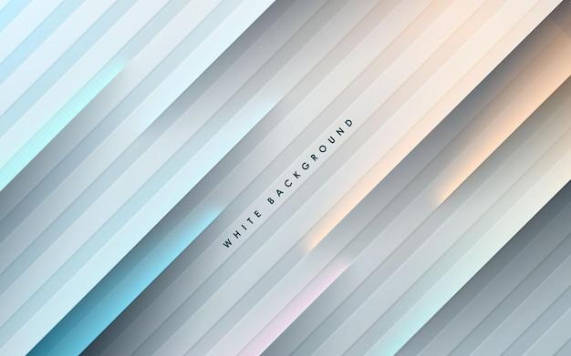 Abstrakcyjne tło papercut z kolorową dekoracją świetlną