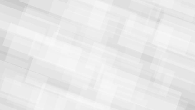 Abstrakcyjne tło półprzezroczystych prostokątów w kolorach szarym i białym