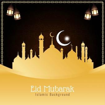 Abstrakcyjne tło religijne eid mubarak