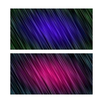 Abstrakcyjne tło. tapeta w paski. zestaw w kolorze różowo-niebieskim