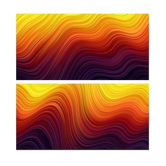 Abstrakcyjne tło. tapeta w paski. zestaw