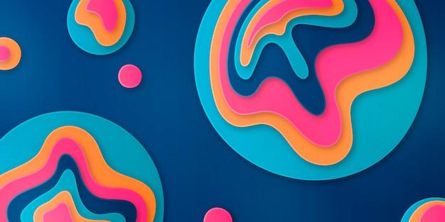 Abstrakcyjne tło w stylu papieru