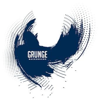 Abstrakcyjne tło wirowe grunge i półtonów