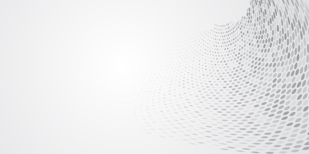 Abstrakcyjne tło wykonane z punktów półtonowych