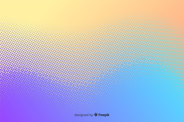 Abstrakcyjne tło z efektem gradientu półtonów