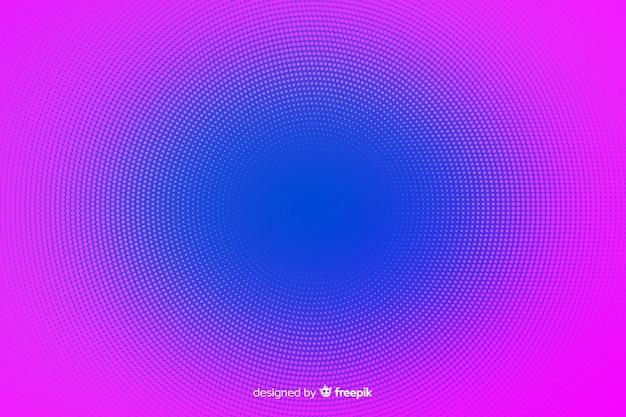 Abstrakcyjne tło z efektem wibrujący półtonów