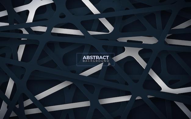 Abstrakcyjne Tło Z Geometrycznymi Kształtami Darmowych Wektorów