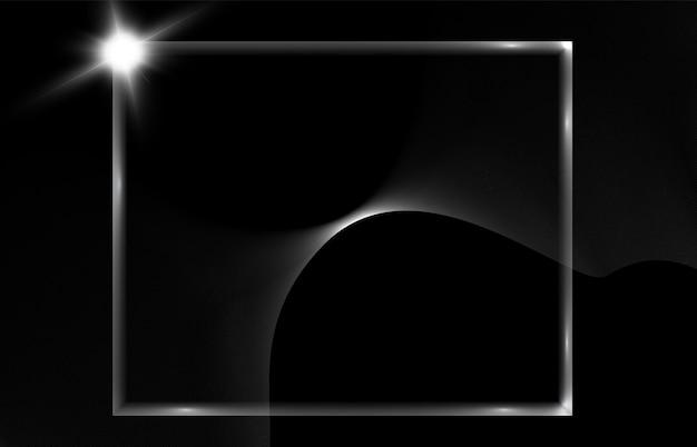 Abstrakcyjne tło z jasnymi efektami świetlnymi do ilustracji wektorowych