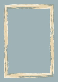 Abstrakcyjne tło z ramą w stylu grunge