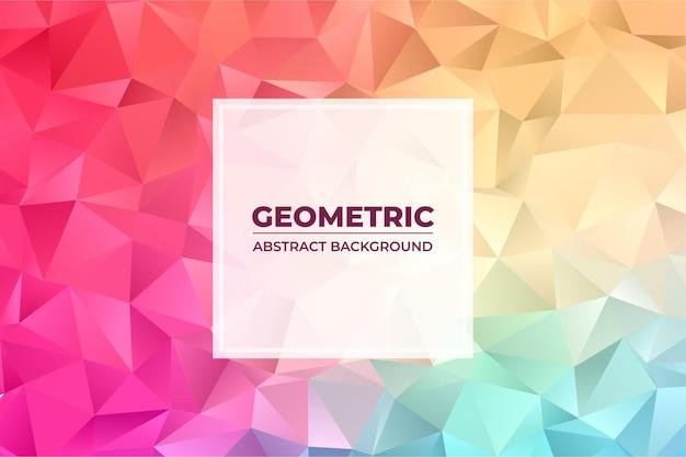 Abstrakcyjne tło z trójkątem