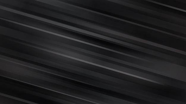 Abstrakcyjne tło z ukośnymi liniami w czarnych kolorach