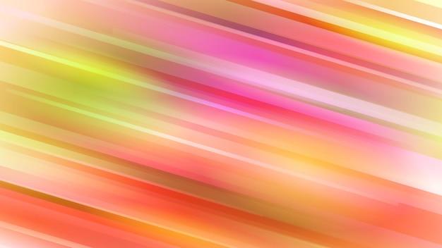 Abstrakcyjne tło z ukośnymi liniami w kolorach czerwonym i żółtym