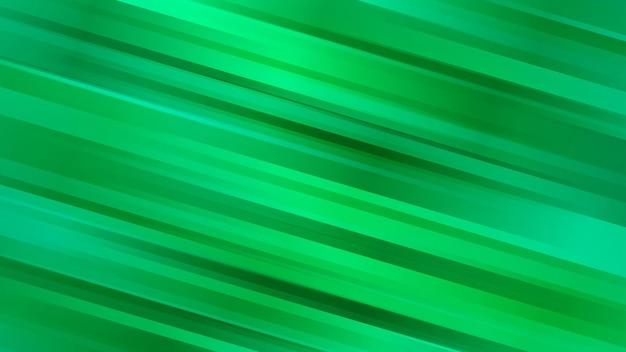 Abstrakcyjne tło z ukośnymi liniami w zielonych kolorach