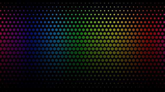 Abstrakcyjne tło z wzorem punktów półtonowych