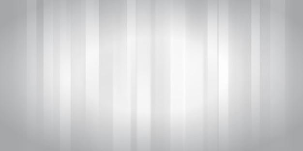 Abstrakcyjne tło ze świecącymi pionowymi paskami w kolorach białym i szarym