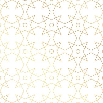 Abstrakcyjne tło złoty wzór geometryczny