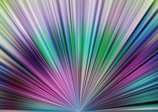 Abstrakcyjne współczesne nakładające się linie i nowoczesne modne geometryczne z gradientowymi kolorami