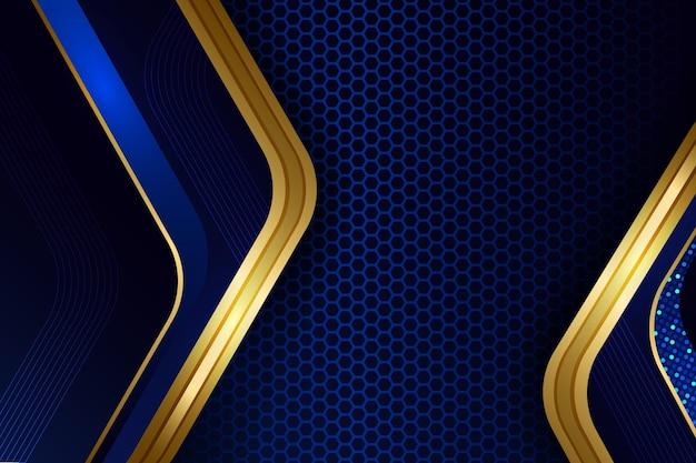 Abstrakcyjne złote detale luksusowe tło