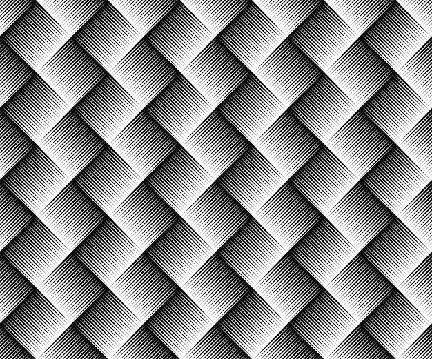Abstrakcyjny. czarno-biały wzór geometryczny linii