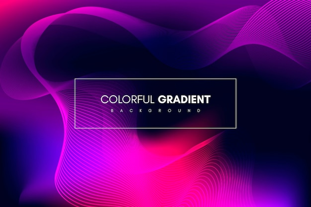 Abstrakcyjny kolorowy gradientowy pasek