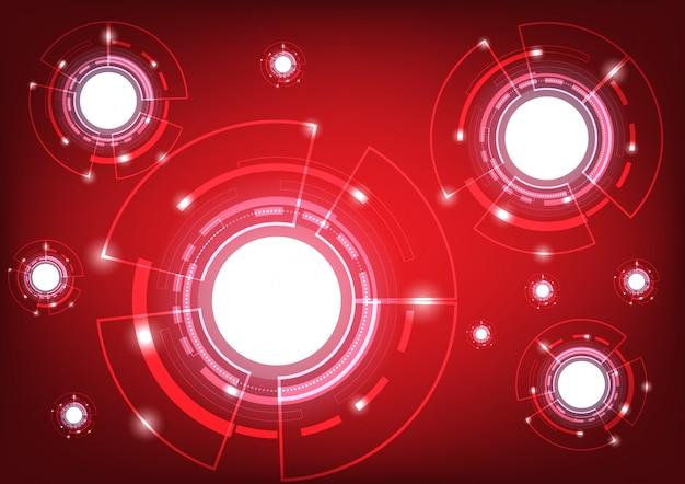 Abstrakcyjny kształt kuli globalnej sieci