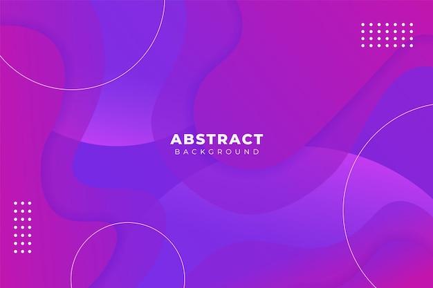 Abstrakcyjny kształt tła miękki gradient fioletowy niebieski