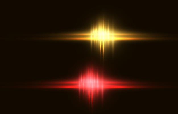 Abstrakcyjny obraz błysku świetlnego shine