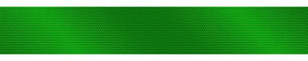 Abstrakcyjny poziomy baner gradientu półtonów w zielonych kolorach