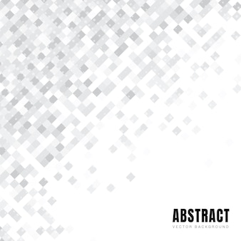 Abstrakcyjny wzór białych kwadratów przekątnej