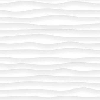 Abstrakcyjny wzór falistych linii z cieniami w kolorach białym i szarym