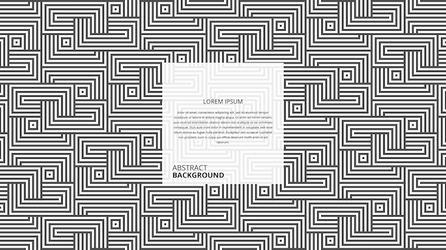 Abstrakcyjny wzór geometryczny kwadratowe linie