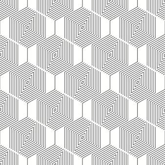 Abstrakcyjny wzór geometryczny szary