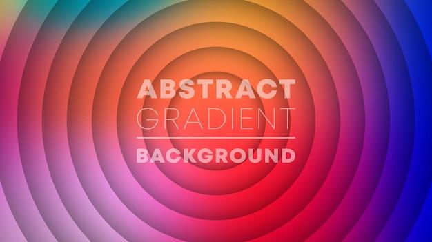 Abstrakcyjny wzór gradientu