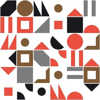 Abstrakcyjny wzór kształtu