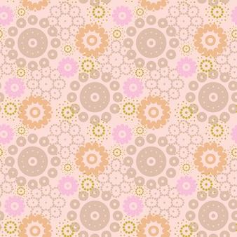 Abstrakcyjny wzór kwiatowy