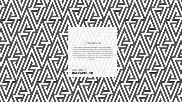 Abstrakcyjny wzór linii geometrycznych bez szwu