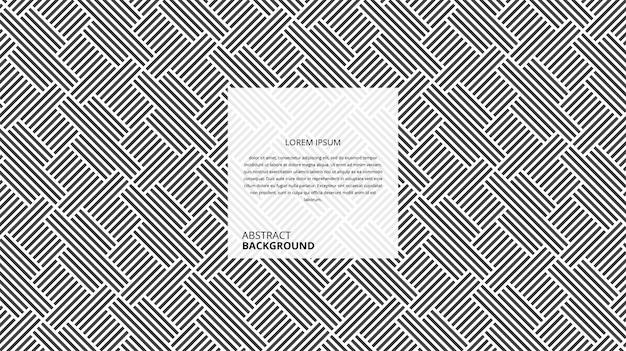 Abstrakcyjny wzór linii prostych