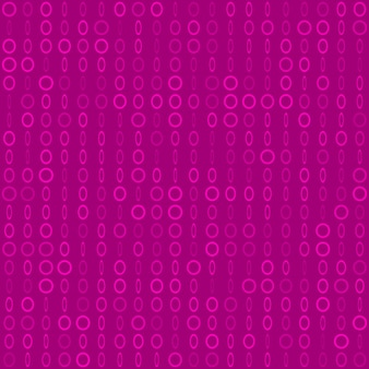 Abstrakcyjny wzór małych pierścieni lub pikseli w różnych rozmiarach w fioletowych kolorach