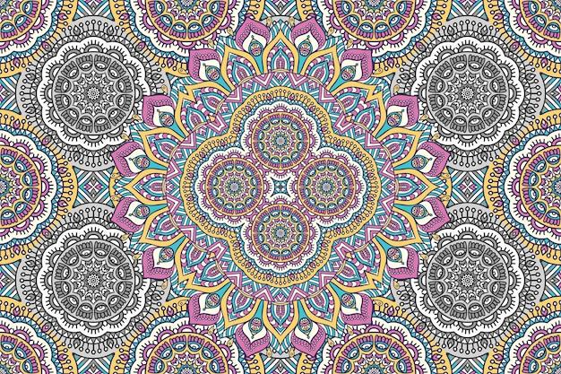 Abstrakcyjny wzór mandali