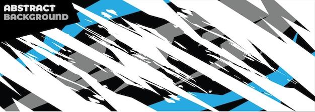 Abstrakcyjny wzór naklejki samochodowej kształt geometryczny wzór wektor