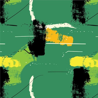Abstrakcyjny wzór obrysu pędzla