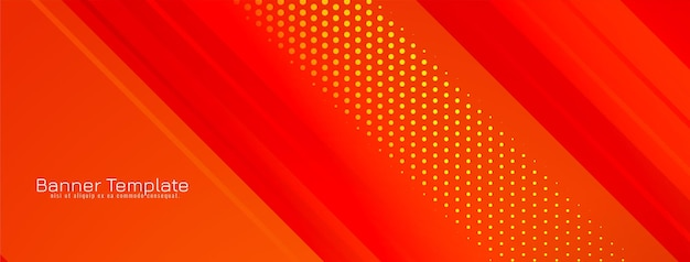 Abstrakcyjny wzór paska geometrycznego koloru czerwonego transparentu wektor .