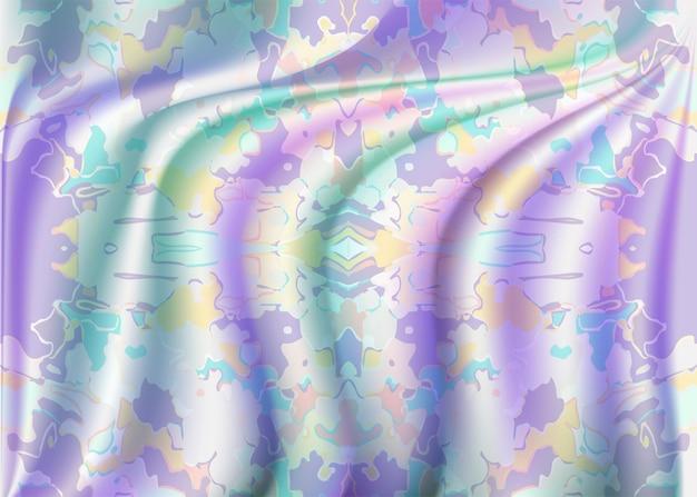 Abstrakcyjny wzór satynowej tekstury z ładną kombinacją kolorów
