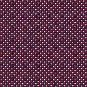 Abstrakcyjny wzór sweter z dzianiny