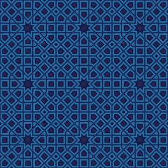 Abstrakcyjny wzór w stylu arabskim