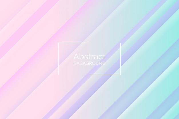 Abstrakt 3d ablegrujący stylowy różowy i błękitny odcień koloru wektoru tło