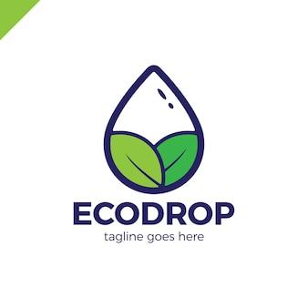 Abstrakt dla biznesu eco natura