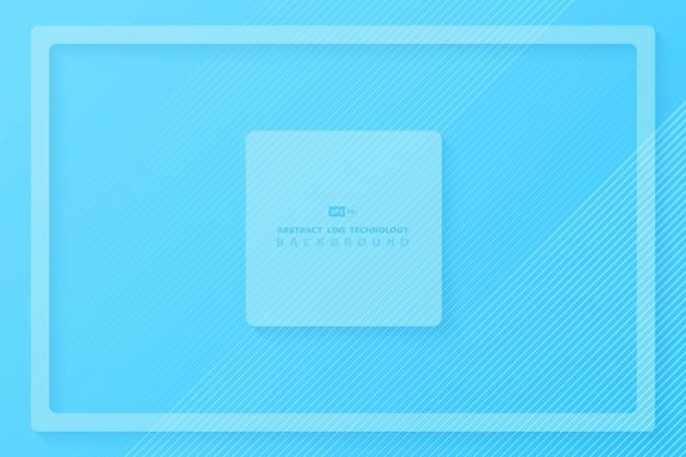 Abstrakt gradientowy błękitny minimalny projekta tło.
