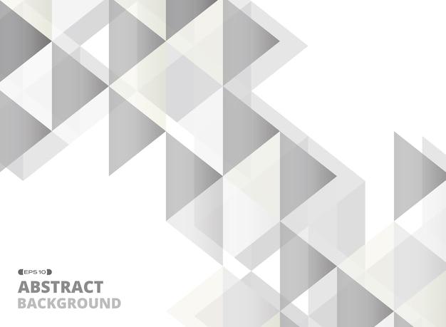 Abstrakt popielaty kwadratowy geometryczny wzór