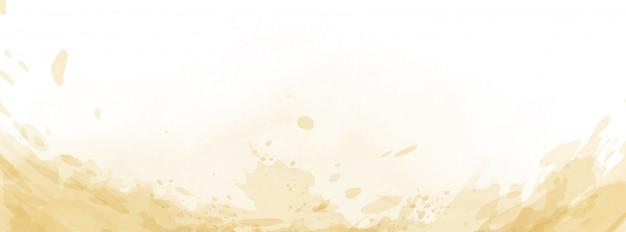 Abstrakt powierzchni akwareli jasnożółta tekstura